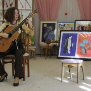 Mini-concert and lecture about classical guitar for children
