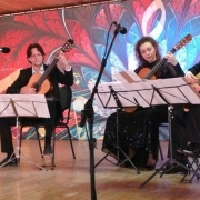 Concert in Car-hall, Izmajlovo's place.