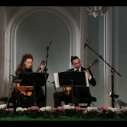 Duo with Artyom Dervoed. Rachmaninov's hall of Moscow Conservatory, 2014